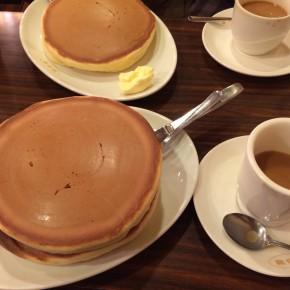 特大ホットケーキ!